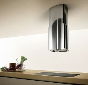 Details about Elica CHROME 46cm Cappa Cucina Isola