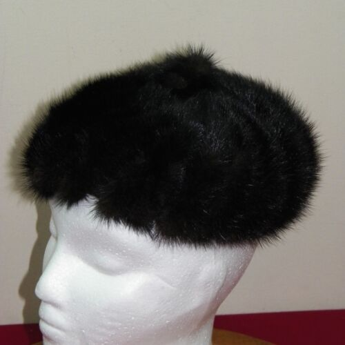 Vintage Mink Pill Box Hat Designed By Lora Brown