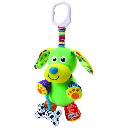 LC27023 Lamaze Pupsqueak Play /& Go Pram Toy with Sound Baby Infant Age 0 Months+