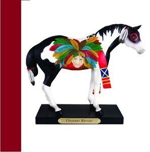 Painted-Ponies-CHEYENNE-WARRIOR-NIB-1E-free-shipping