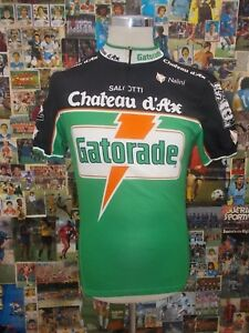 maglia-ciclismo-bike-shirt-maillot-trikot-camiseta-GATORADE-CHATEAUX-TG-5-E861