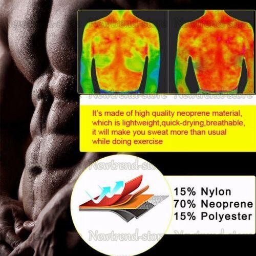 para hombre con forma de barriga y quemador Chaleco de sudor caliente de grasa s