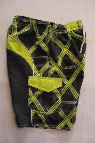 NEW Boys Swim Trunks Small 6-7 Bathing Suit Lined Board Shorts Surf Beach Pool