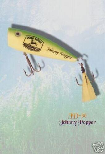 JOHN DEERE JOHNNY POPPER LURE BAIT  4 legs NEW LICENCE RARE Gift Collectors
