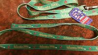 Dog Leash Green, Atlanta 1996, 20th Anniversary Olympics, Collectible,vintage