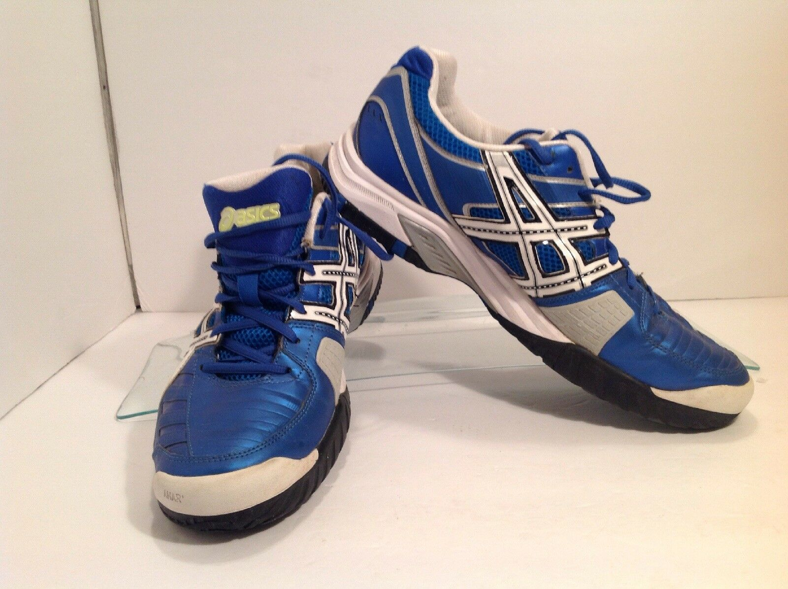ASICS Men's E303Y Gel-Challenger Athletic shoes Size 11.5 bluee white
