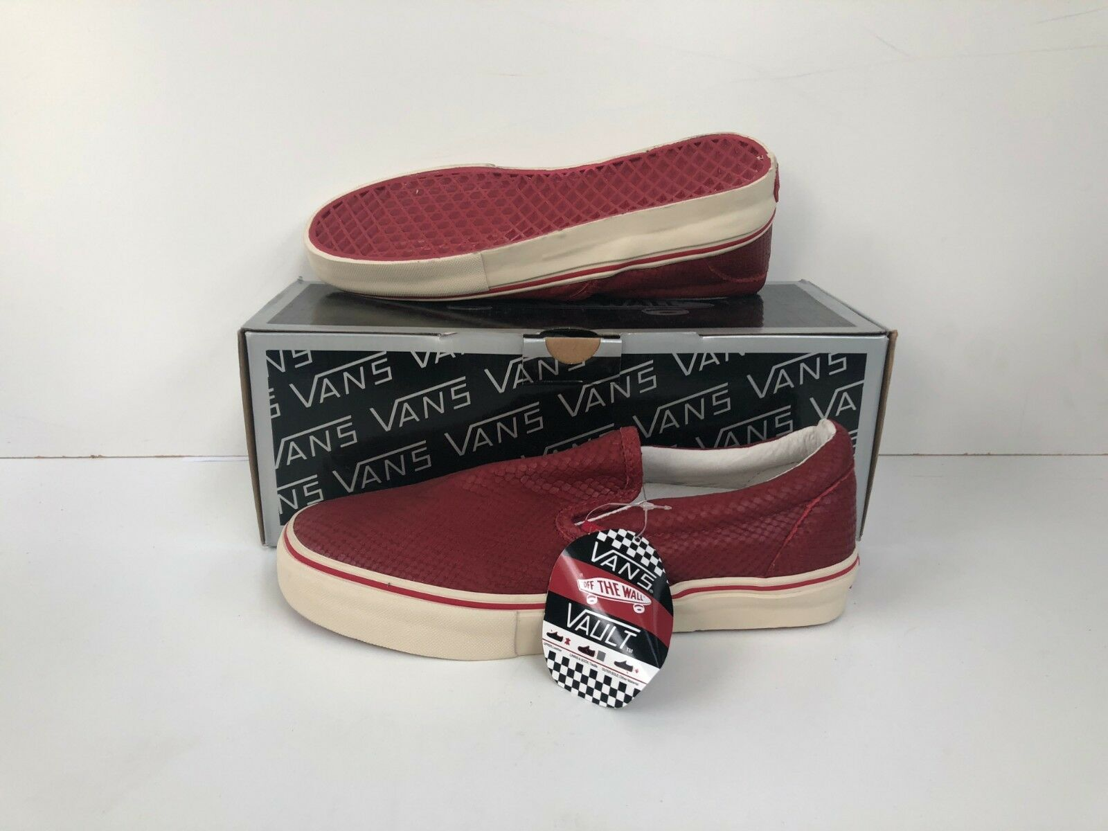 Vans Of The Wall Unisex Classics Slip On LX shoes - UK 7 - Various Colours - New