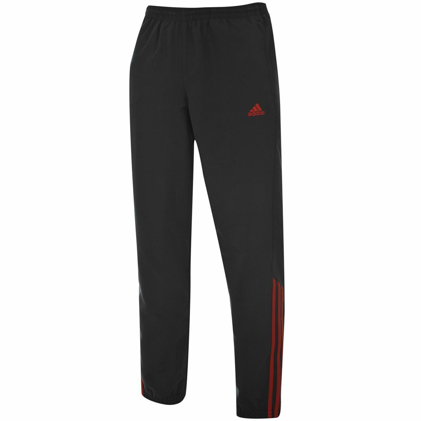 Adidas Samson 2 Jogginghose Jogginghose Herren Dunkelgrau Rot Jogginghose