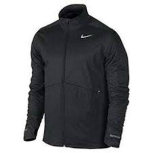 disfruta del mejor precio gama completa de artículos gran variedad de Detalles de Auténtico Nike HOMBRE Dri-Fit Element Escudo F/Z Chaqueta Negra  802044-010