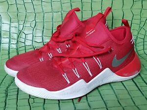 innovative design a3c85 2ee62 Image is loading Nike-Hypershift-Low-Red-Basketball-Men-039-s-