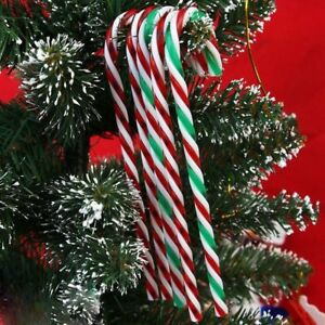 image is loading set of 20 christmas acrylic candy cane xmas