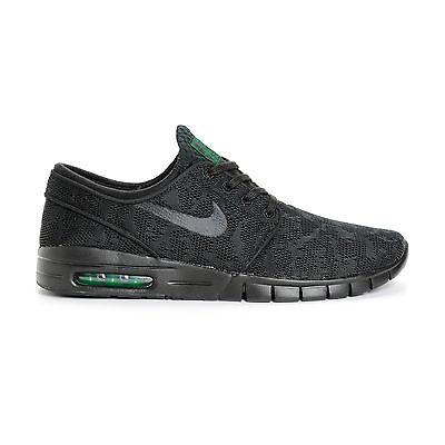 wyprzedaż ze zniżką super tanie Trampki 2018 Nike STEFAN JANOSKI MAX Black Black-Pine Green 631303-003 (352) Men's Shoes  | eBay