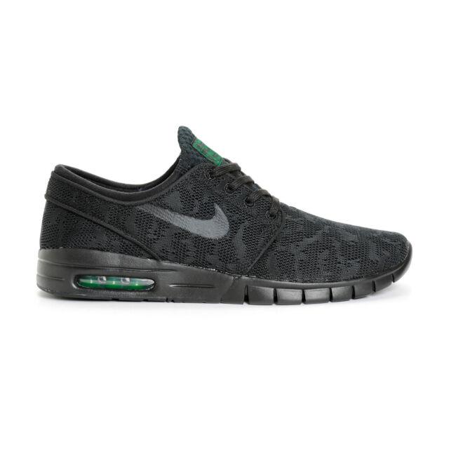 Nike STEFAN JANOSKI MAX Black Black Pine Green 631303 003 (352) Men's Shoes