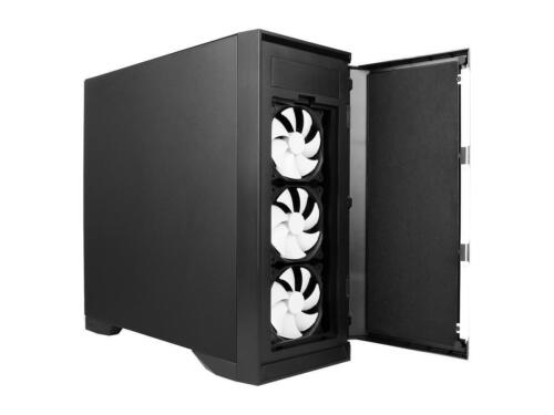 Antec Performance Series P101 Silent Black//0.8 mm SPCC ATX Mid Tower Case with 8