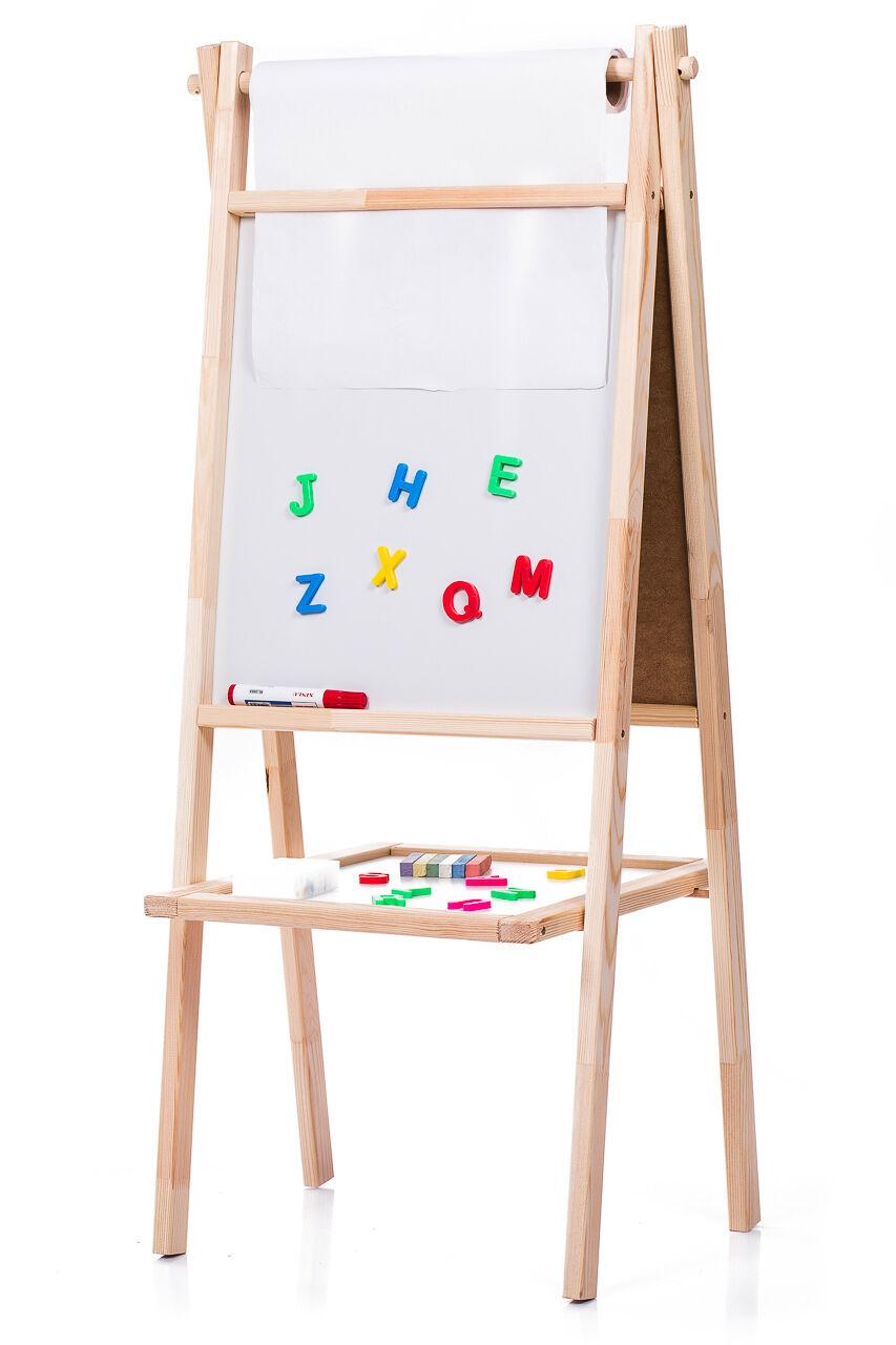 Kindertafel 93x53cm Standtafel Schreibtafel Maltafel Tafel Schultafel Kunststoff