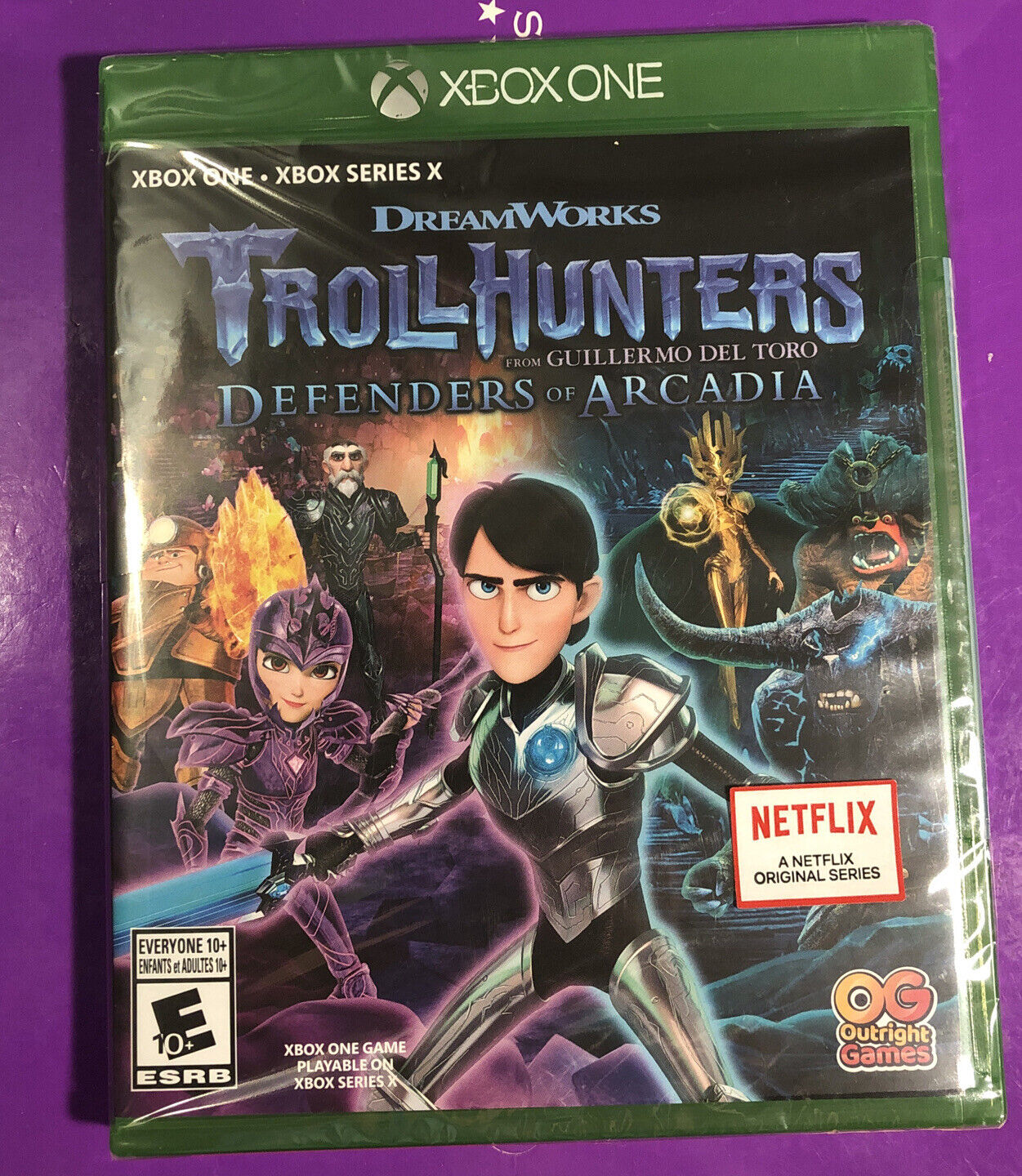 XBOX ONE TrollHunters Defenders of Arcadia Game Brand New Factory Sealed in Case