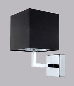 Illuminazione camera da letto salone applique parete moderno paralume stoffa led ebay - Applique led per camera da letto ...