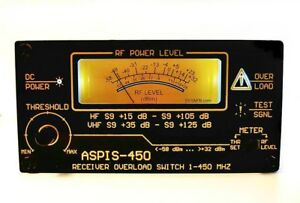 ASPIS-450 Receiver Overload Protection Switch  10 KHZ - 450 MHZ