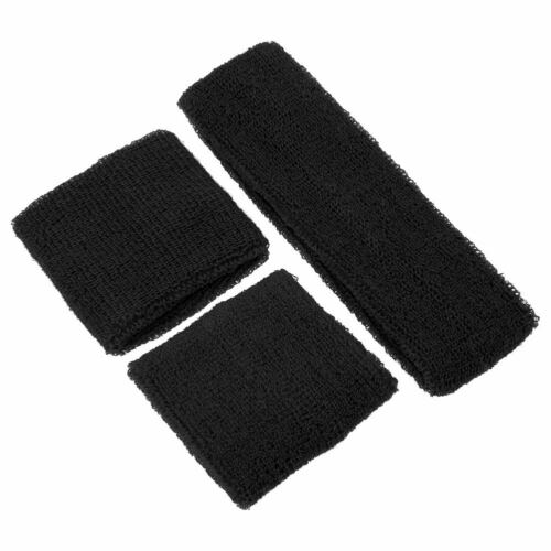 2 Wristbands+1 Headband Sweat Band Sweatbands for Sport Tennis Gym Yoga Run Hot