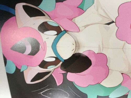 A5 32pages Color Illust furry winte Hibernation FUYUGOMORI POKEMON Doujinshi