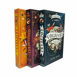 The-Cogheart-Adventure-Series-Collection-3-Books-Set-Peter-Bunzl-Skycircus-NEW