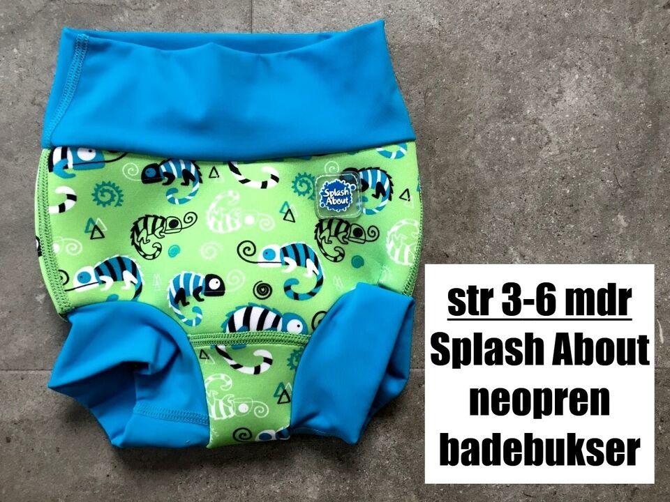 Badetøj, neopren badebukser, Splash About