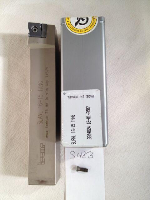 "Iscar Indexable Lathe Tool Holder 1/""x1/"" Shank SLANL 16-15 TANG LOC689"