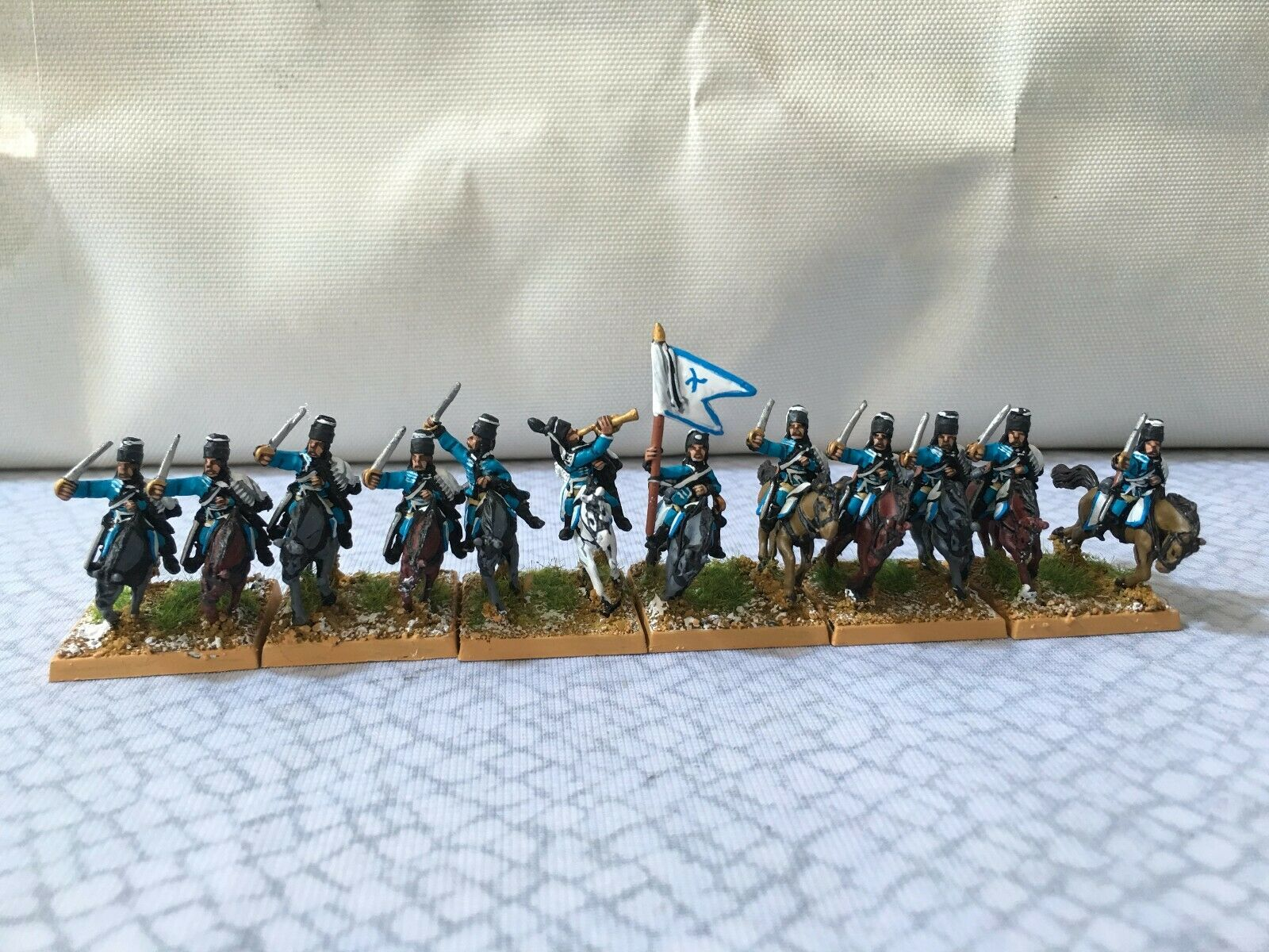 15mm Seven Years War painted Prussian Hussar Regiment SYWPr11
