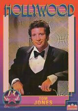 Tom Jones, Singer, Hollywood Star, Walk of Fame Trading Card --- NOT Postcard