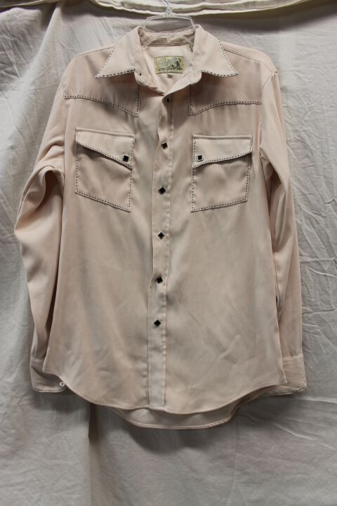 Roper Vintage Western Pearl Snap Shirt Men's Size Medium GREAT Used Condition