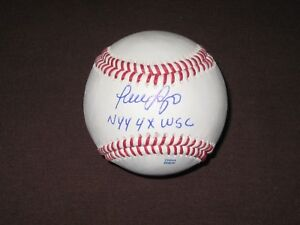 Coa Jsa Baseball-mlb Provided Luis Sojo Signed Baseball Yankees Balls