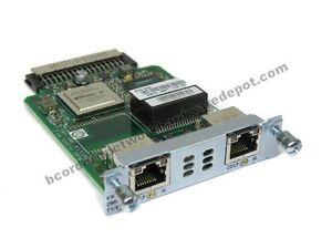 Cisco-VWIC3-2MFT-T1-E1-2-Port-MultiFlex-T1-E1-for-2900-3900-1-Year-Warranty