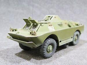 Mi0632 1/35 Pro Built - Voiture blindée soviétique Brdm-2 de dragon en plastique