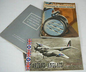 Details About 4 Revues Doc Livre Avion Aviation Anglaise 39 45