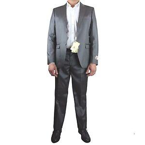 Completo 2 Elegante Fashion Sartoria Pezzi Uomo Monopetto Veneta Grigio Abito qUI7w7