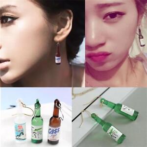 1Pair-Korean-Drop-Dangle-Resin-Jewelry-Wine-Bottle-Earrings-Hook-Ear-Stud