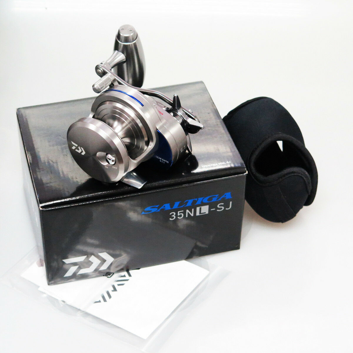 DAIWA SALTIGA 35NL-SJ Left Handle Saltwater Reel Fedex priority 2day to Usa
