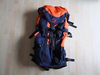 Mammut Extreme, Rucksack, Tracking, Klettern, Backpack 45 Liter Ink/Orange