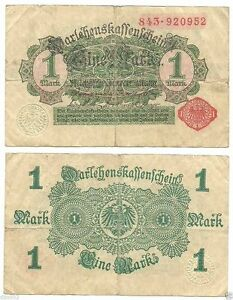 Germany-1-Mark-1914-Red-serial-and-seal-wmk-D