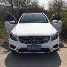 fit for Mercedes Benz GLC X253 2016 2017 AMG front grille mesh grill vent bar