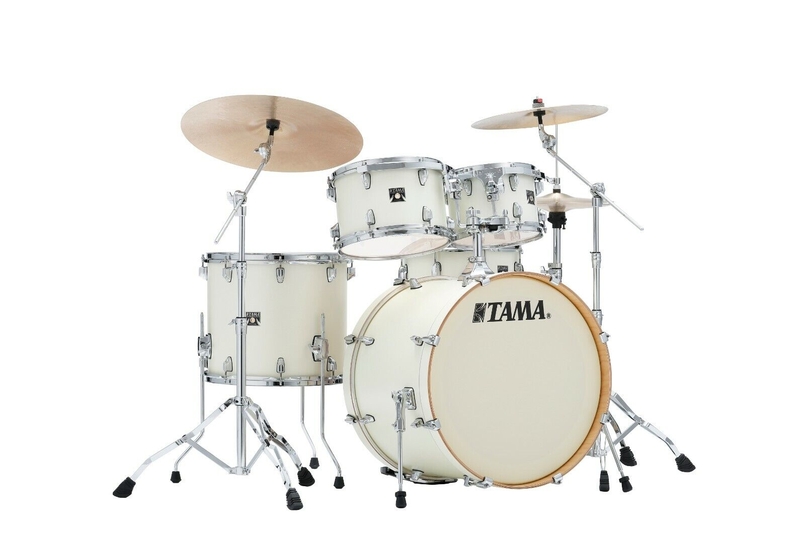 TAMA Superstar Classic CL52KRS-SAP Maple 5 tlg. Satin Arctic Pearl o. Hardware