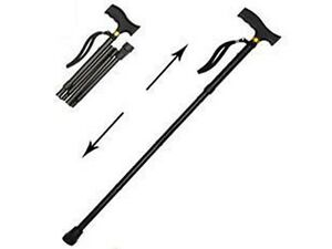 NEW-ADJUSTABLE-FOLDING-FOLDABLE-STRONG-LIGHTWEIGHT-WALKING-STICK-FOLD-AWAY-BLACK