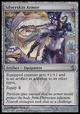 Silverskin Armor EX/Played Mirrodin Besieged Magic Cards Artifact Uncommon