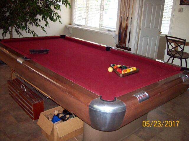 1946 9u0027 Brunswick Anniversary Pool Table