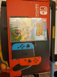 Nintendo Switch Neon & w/ Animal Crossing: New Horizons ...