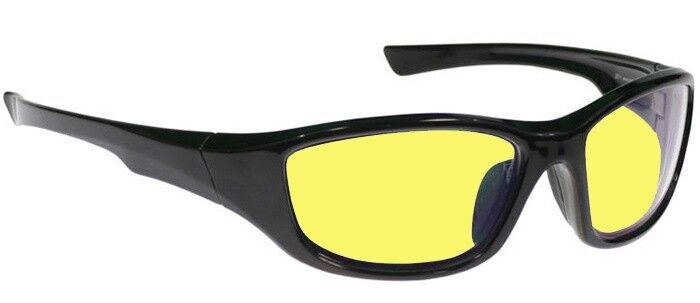 Viper Interchangeable Driving Glasses with Three Sets of Lenses - Clear, Yellow