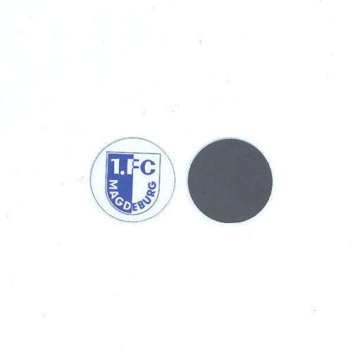 1 Sportbild Fussball Bundesliga FC Magdeburg Magnet 2,1 cm Logo