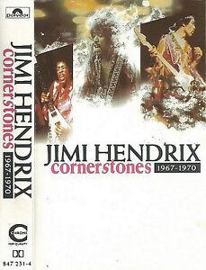 Jimi-Hendrix-Cornerstones-1967-1970-CASSETTE-ALBUM-Blues-Rock-Psychedelic-Rock