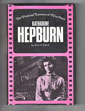 KATHERINE HEPBURN Alvin H. Marill (1984) HC ~Pictorial Treasury of Film Stars~