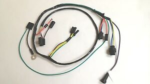 1964 64 chevy impala belair biscayne ac wiring harness 1965 chevelle ss ebay. Black Bedroom Furniture Sets. Home Design Ideas